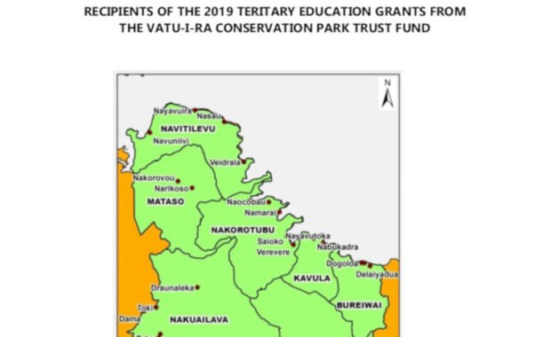 Recipients Of The 2019 Teritary Education Grants From The Vatu-I-Ra Conservation Park Trust Fund